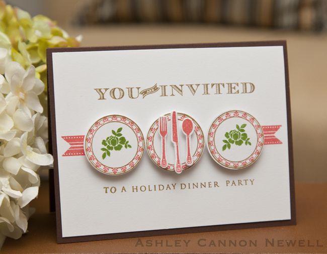Circles color trends challenge holiday dinner party invite holiday stopboris Choice Image