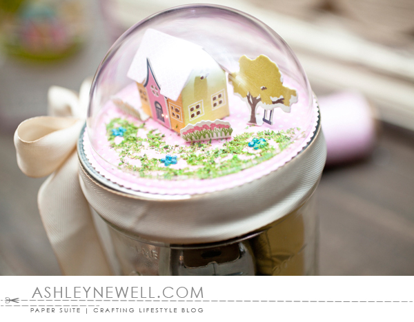 Project by Ashley Cannon Newell for Papertrey Ink - January 2016 - Petite Places: Home & Garden