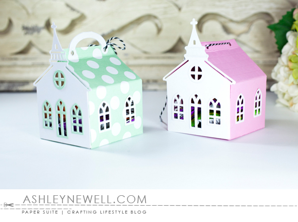 Project by Ashley Cannon Newell for Papertrey Ink - February 2016 - Tiny Town + Tiny Town: Church - #AshleyCannonNewell #PaperSuite #PapertreyInk