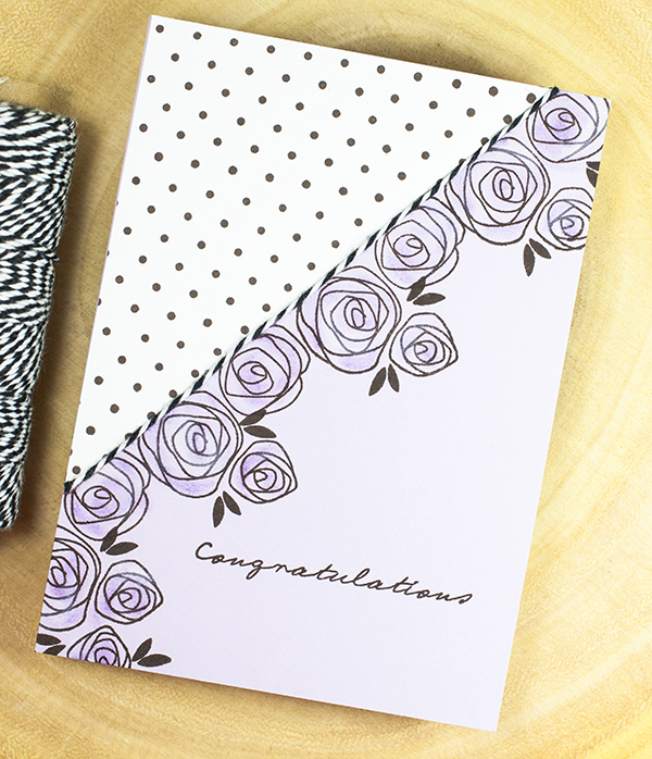 Project by Ashley Cannon Newell for Papertrey Ink - December 2016 - #AshleyCannonNewell #PaperSuite #PapertreyInk - Splits: With Love