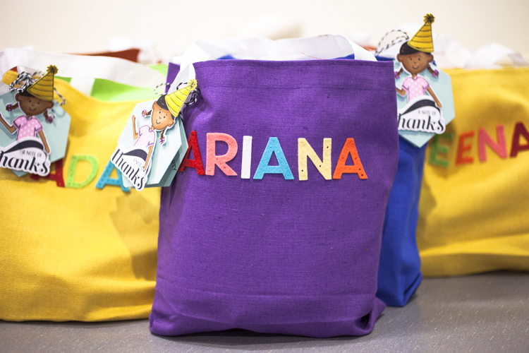 Personalized Birthday Party Favor Gift Bags Paper Suite